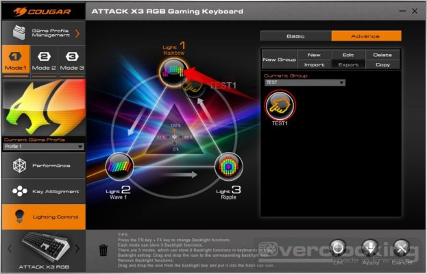 COUGAR UIX System ATTACK X3 RGB 11