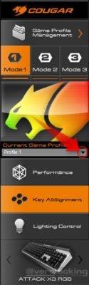 COUGAR UIX System ATTACK X3 RGB 2