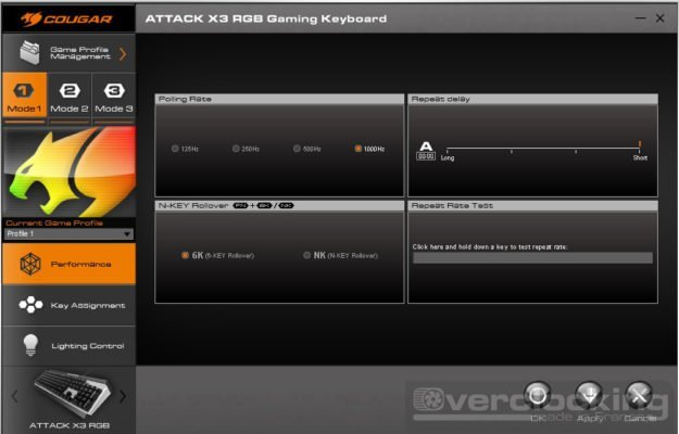 COUGAR UIX System ATTACK X3 RGB 6