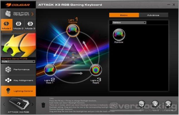 COUGAR UIX System ATTACK X3 RGB 7