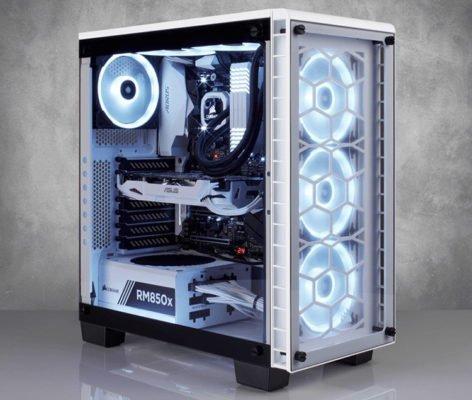 Corsair Crystal 460X RGB Blanc