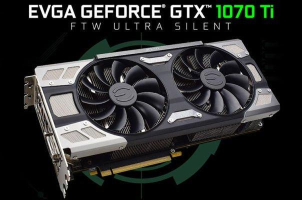 EVGA GTX 1070 Ti FTW Ultra Silent