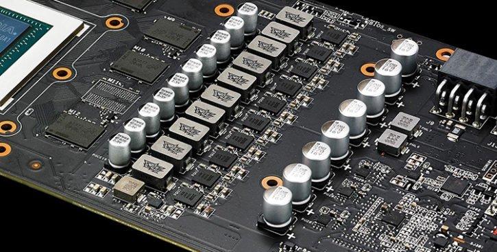 PCB ASUS StriX GTX 1080 Ti
