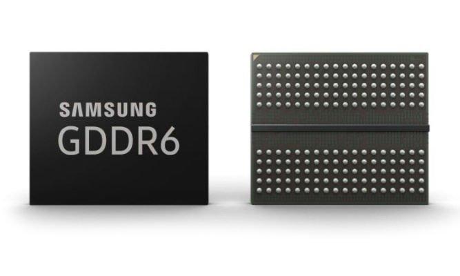 Samsung GDDR6