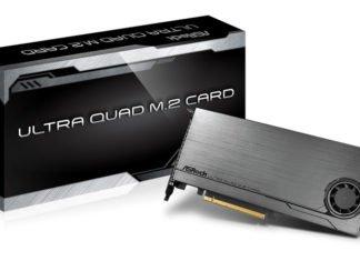 ASRock Ultra Quad M.2 Card