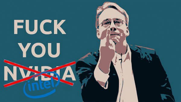 Linus Torvalds Intel, fuck you
