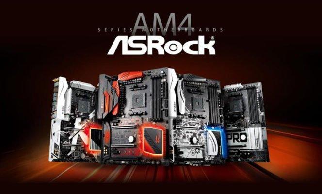 ASRock AM4 MAJ RyZen 2000