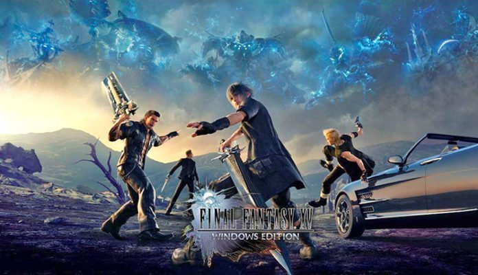 Final Fantasy XV GeForce 391.01 - RADEON Software 18.3.2