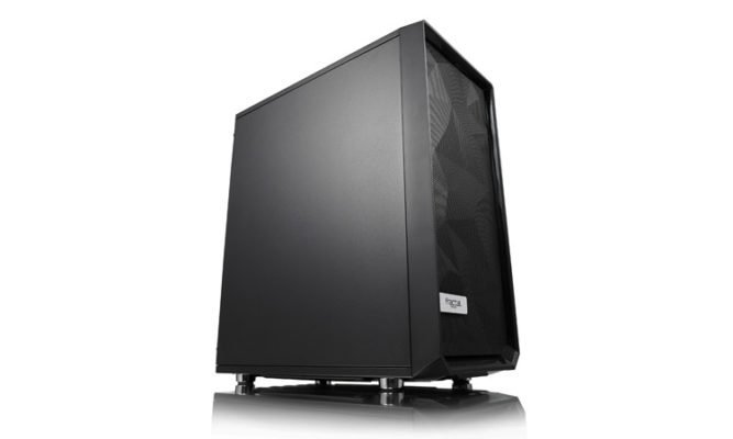 Fractal Design Meshify C full panel