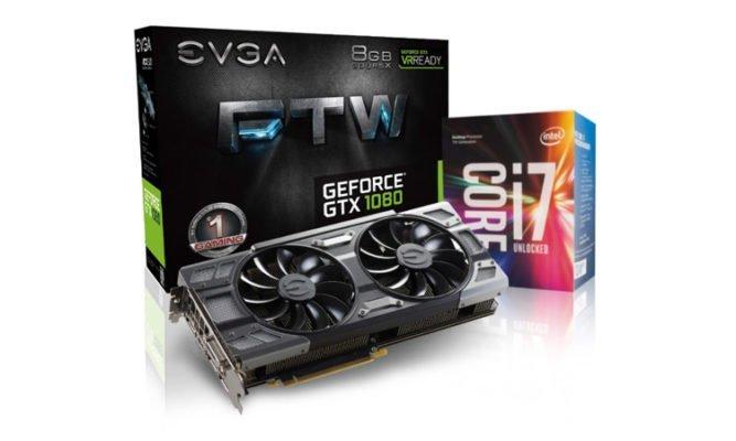 Bon plan EVGA GTX 1080 + Core i7 7700K