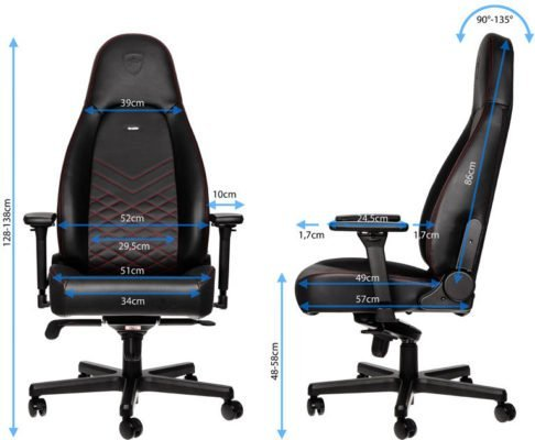 noblechairs icon dimensions