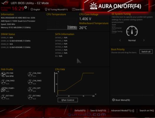 ASUS BIOS RGB