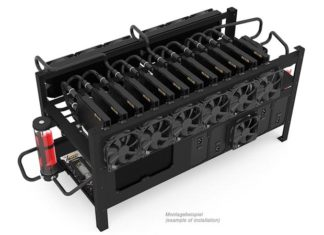 Alphacool Mining Rig 12 Open Frame