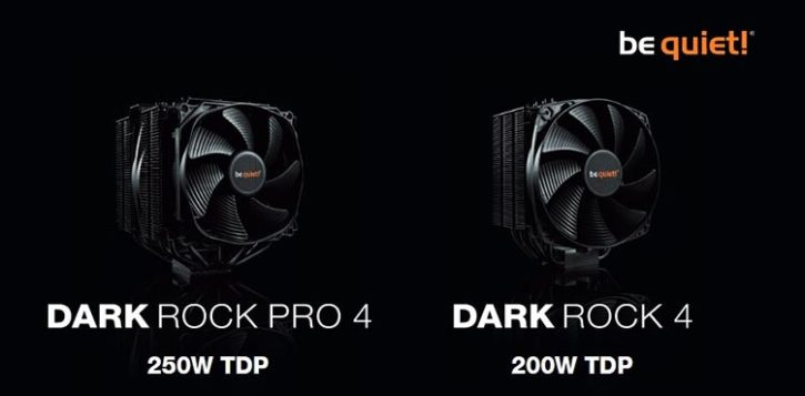 be quiet! Dark Rock 4 & Dark Rock Pro 4