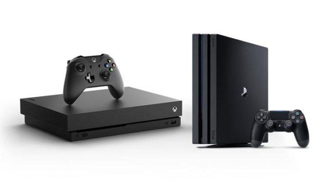 XBox One X Slim - PS4 Pro Slim