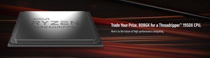 AMD échange Core i7 8086K