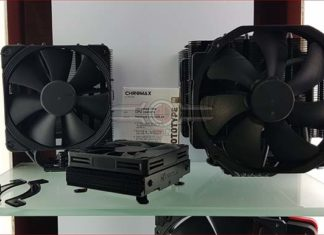 Noctua Chromax all black coolers