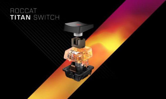 Roccat Titan switch