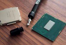 Core i9 9900K soudure indium