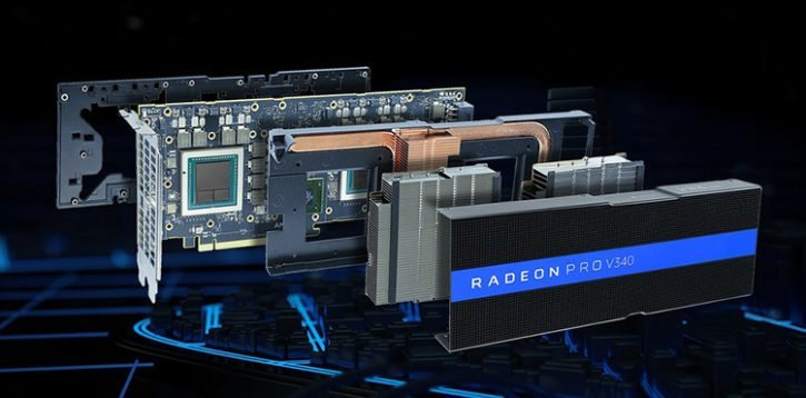 AMD RADEON PRO V340