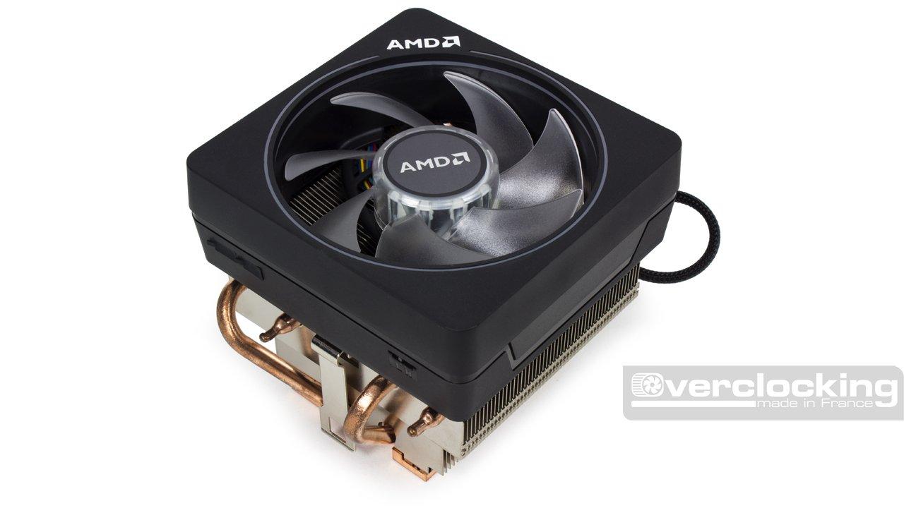 Test/Review : AMD Wraith Prism, Spire et Stealth, les radbox sur le