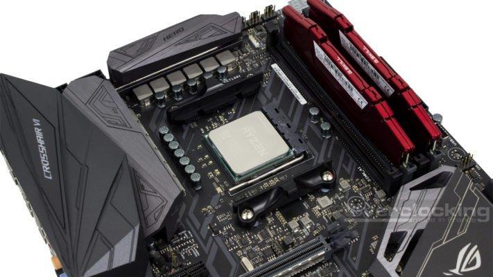 Protocole cooling 2018 - ASUS Crosshair VI Hero - Ryzen 7 1700X