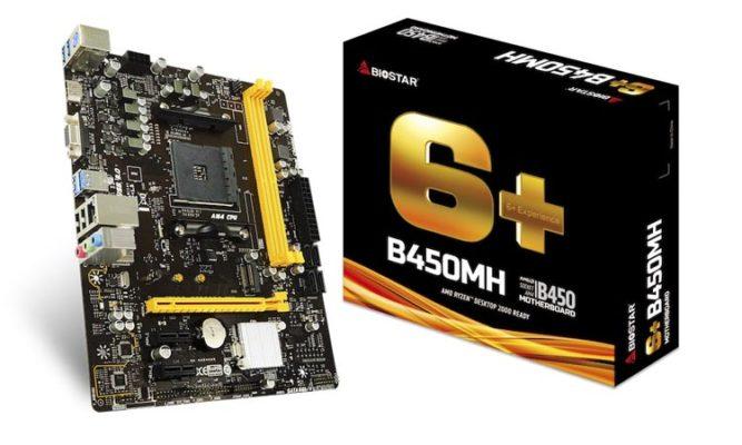 Biostar B450MH