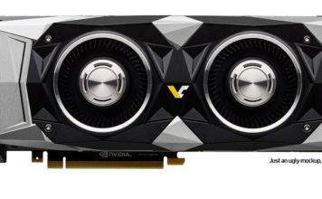 nVidia GTX 1180 - 2080 mockup