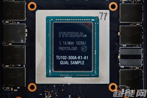 nVidia RTX 2080 Ti TU102-K1-A1