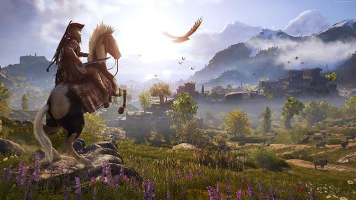 Assassin's Creed Odyssey - GeForce 411.63 - RADEON Software 18.9.3