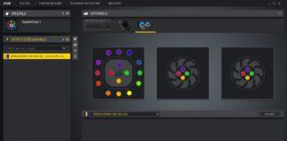 Corsair H100i RGB Platinum - iCUE effets d'éclairage