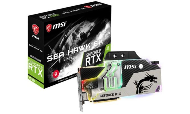 MSI RTX 2080 Sea Hawk EK
