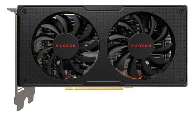 AMD RX 580 - RX 560 XT