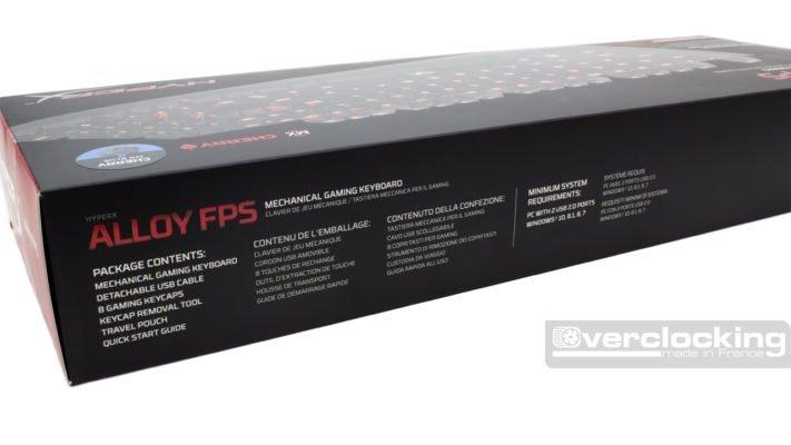 HyperX Alloy FPS Boîte