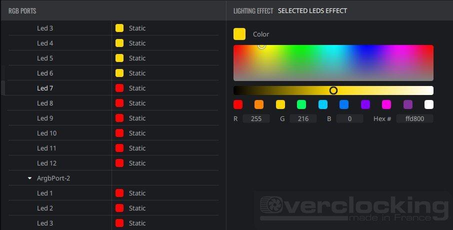 Tuto : Cooler Master Lighting Control, la gestion du RGB !