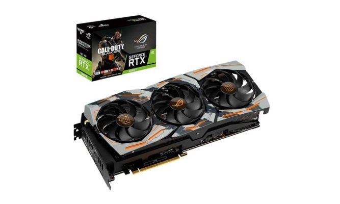ASUS ROG StriX RTX 2080 Ti OC Call of Duty - Black Ops 4 Edition