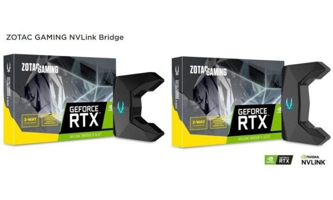 Zotac Gaming NVLink Bridge