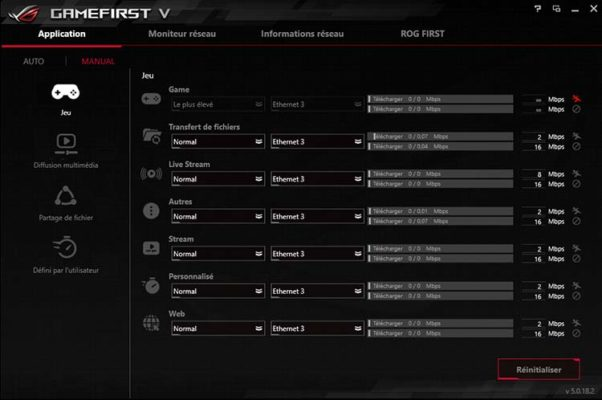 ASUS GameFirst V