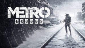 Metro Exodus - jeux pc 2019