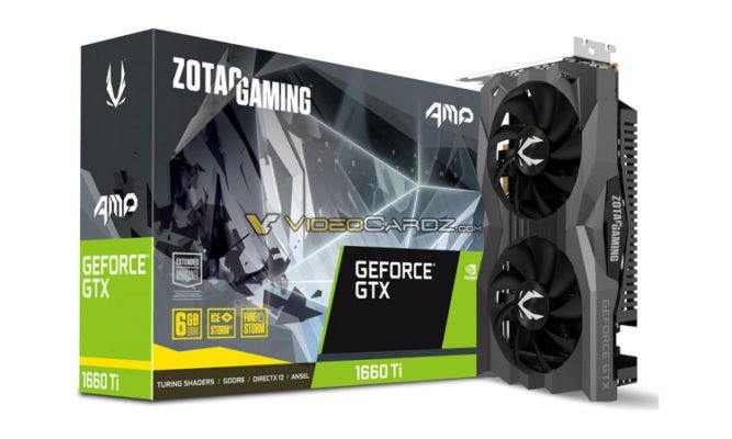 Zotac GTX 1660 Ti Twin Fan & AMP