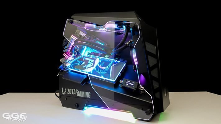 GGF Lanparty Conquer Essence Zotac RTX 2080 Ti Arctic Storm