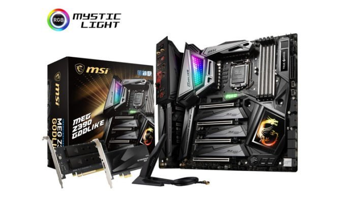 MSI Z390 Godlike - bios core i 9000