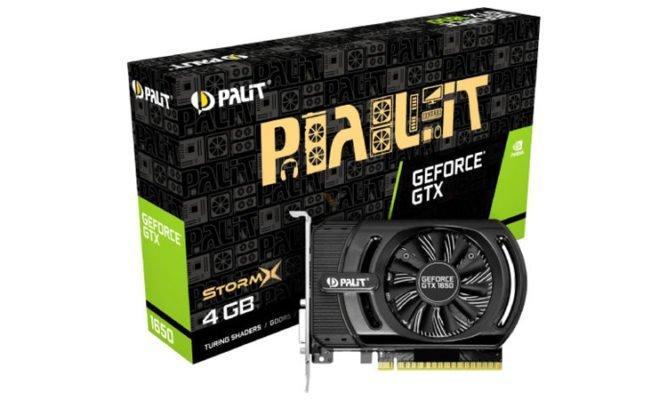 Palit GTX 1650 StormX