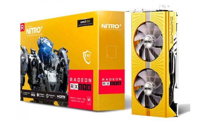 Sapphire RX 590 Nitro+ 50th Anniversary