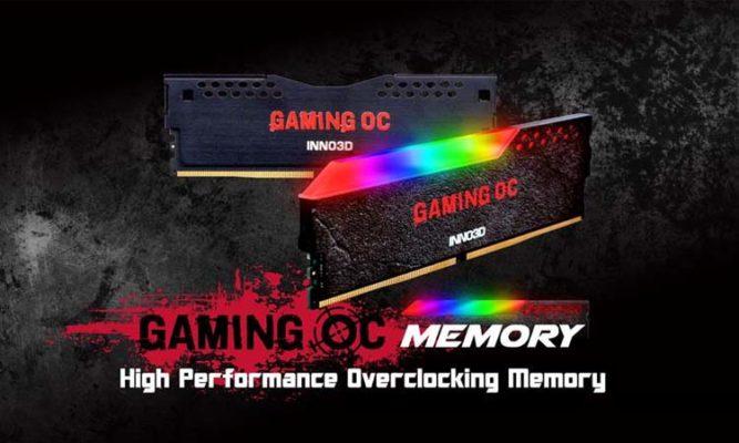 Inno3D Gaming OC Memory