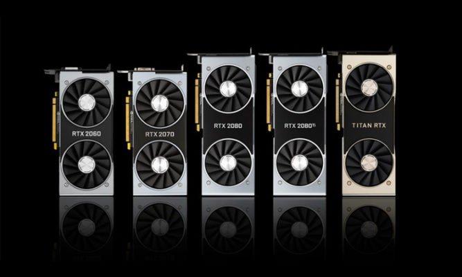 nVidia GeForce RTX 2000 - Turing