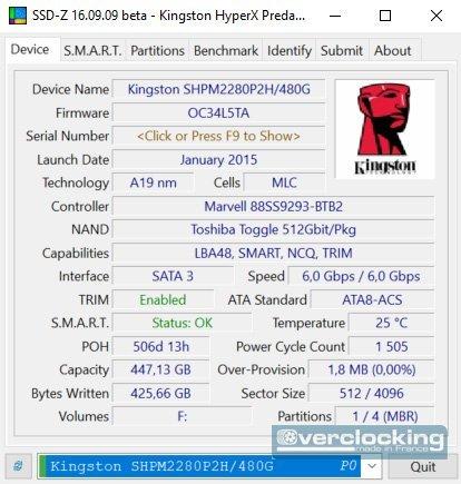 protocole SSD 2019 SSD-Z