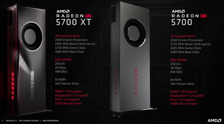 AMD RX 5700 XT RX 5700