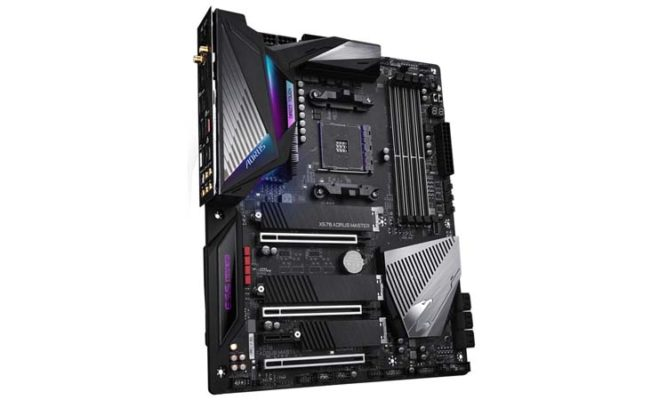 Gigabyte X570 Aorus Master - PCIe 4.0