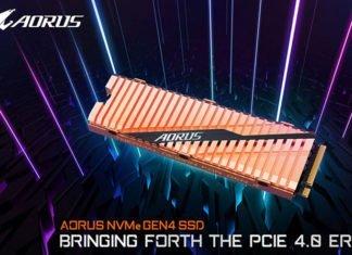 SSD Aorus M.2 NVMe PCIe 4.0